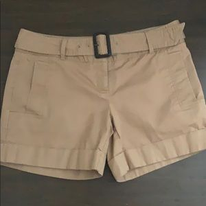 The Limited camel color shorts